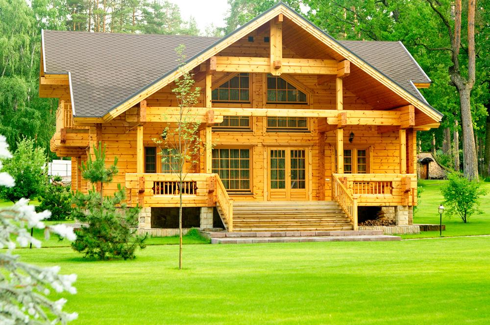 Строительство из дерева: экологично и экономично