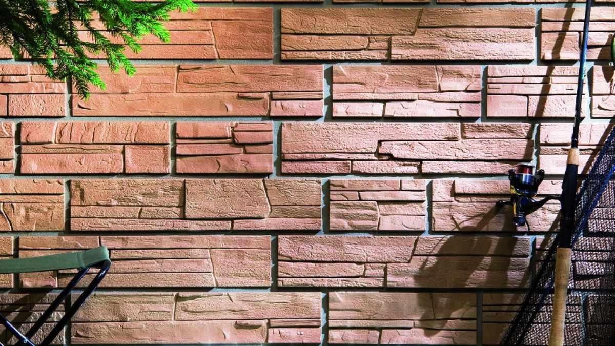 Фасадные панели под камень