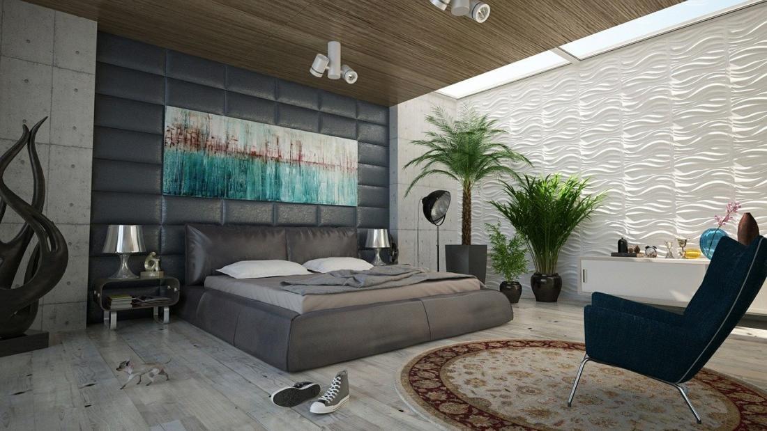 Правильное расположение мебели в спальне