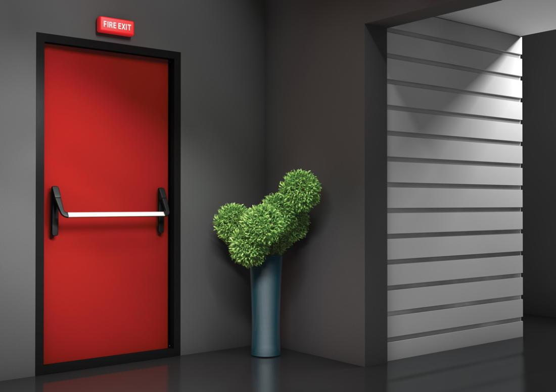 Виды противопожарных дверей и правила установки