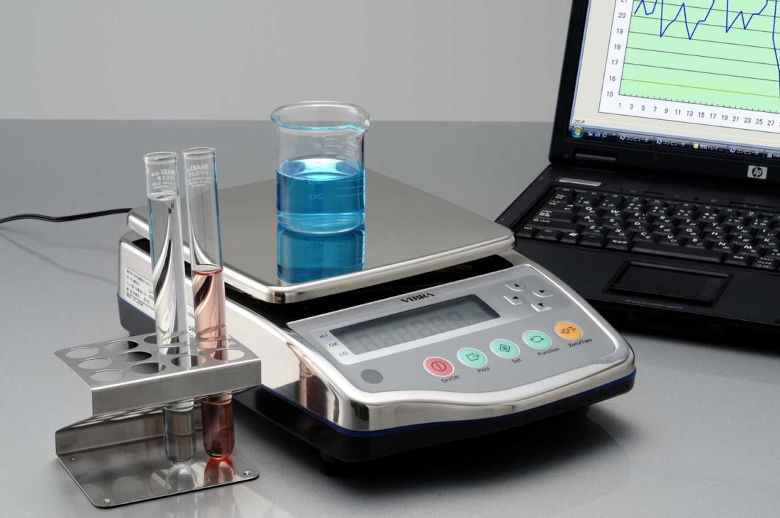 Характеристики лабораторных весов